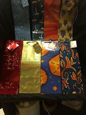 8 Brand New Wine / Liquor Gift Bags Glossy/Waxy Paper High Quality Tie & Card