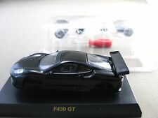 1:64 Kyosho Ferrari F430 GT Black Diecast Model Car 3