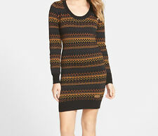 Element Artisan Sweater Dress (M) Black