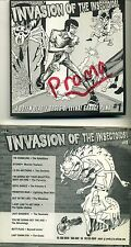 INVASION OF THE INSECTOIDS - 1997 GARAGE COMPILATION Satelliters Spider Babies