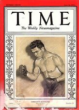 1929 Time June 24-Max Schmeling; Ethel Barrymore will act in blackface;Lynchings