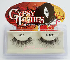 NIB~ GYPSY WHISPY #906 FALSE EYELASHES Fake Lashes Wispies Strip 96 Black