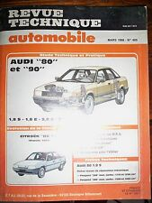 AUDI 80 90 CITROËN BX 14 - Revue Technique Automobile