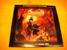 Cardsleeve Full CD OLYMPOS MONS Conquistador PROMO 11TR 2004 heavy metal