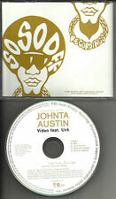 JOHNTA AUSTIN Video 5TRX w/ INSTRUMENTAL & ACAPPELLA & RADIO PROMO DJ CD single