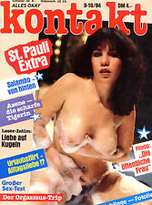 """Rarität - Magazin """"das da"""" Kontakt, Nr. 9-10 von 1984, Storys und schöne Frauen"""