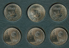 3 pcs. 2017 ASEAN Association of SouthEast Asian Nation 1 Piso Philippine Coin