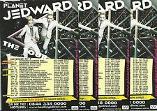 Jedward - Planet Jedward 2010 Tour FLYERS x 4