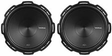"2 Rockford Fosgate P1S4-15 Punch 15"" 1000 Watt 4 Ohm Car Stereo Subwoofers Sub"