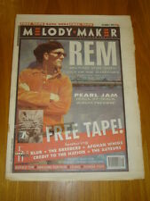 MELODY MAKER 1993 OCT 2 REM PEARL JAM BUFFALO TOM