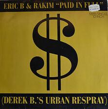 """ERIC B & RAKIM - PAID IN FULL 12"""" MAXI LP (R175)"""