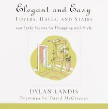 Elegant and Easy Hallways, Foyers and Stairs: 100 Trade Secrets for De-ExLibrary