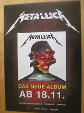 Metallica Promo Poster Hardwired To Self-Destruct