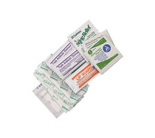 First Aid Kit Refill: Mini Wound Care Pack IFAK Bandages/Wipes/Antibiotic Cream