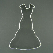 "DRESS GOWN 4.5"" METAL COOKIE CUTTER BALL CINDERELLA  BRIDAL SHOWER PARTY FAVOR"