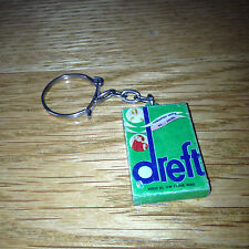 Vintage Retro DREFT KEYRING Washing Powder VERY RARE Collectable