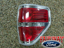2009 thru 2014 F-150 OEM Genuine Ford Chrome Right Passenger Tail Lamp Light