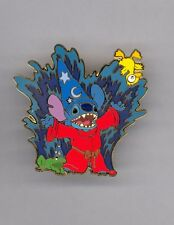 Disney Stitch Invasion as Sorcerer Mickey Mouse Fantasia Frog & Baby Duck LE Pin