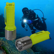 Elfeland Underwater 60M 4000LM XM-L T6 LED Scuba Diving Flashlight Waterproof RF