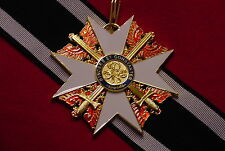 GERMAN EMPIRE / PRUSSIAN MEDAL RED EAGLE ORDER GRAND CROSS W/ SWORDS & RIBBON