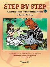 Step by Step 1A -- an Introduction to Successful Practice for Violin : Book...