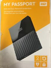 WD My Passport Auto Backup 2TB, Brand New 2 TB Premium Storage