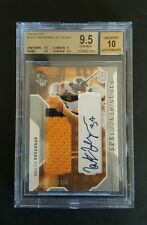 PATRICE BERGERON 03-04 SPX ROOKIE RC JERSEY AUTOGRAPH BGS GRADED 9.5 AUTO 10