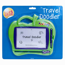"5"" Screen Magic Sketch Drawing Board Children Kids Toy Doodle Magnetic Etch"