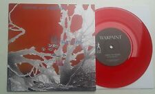 "Warpaint Tribute to Bowie Ltd Red vinyl 7""  Split Sister Crayon Ashes to Ashes"