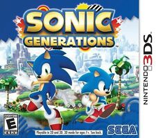 Sonic Generations - Nintendo 3DS Game