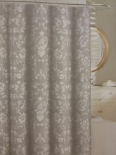 "Tahari Home Napoli Scroll Fabric Shower Curtain 72"" x 72"" NIP"