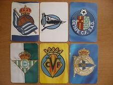 Lote 6 cromos Futbol 2005-06 Mundi Cromo Trading Cards MC Fichas de la Liga 2006