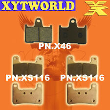 FRONT REAR Brake Pads for Suzuki GSXR 1000 K4-k6 2004-2006