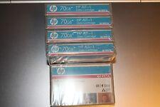 5 Casette HP Q1997A Storage AIT-1 70GB Data Cartridge Nuove Sigillate Originali