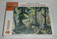 NEW Sealed Arthur Lismer Sunlight in a Wood 1000 Piece Jigsaw Puzzle