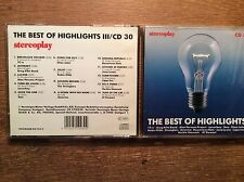 STEREOPLAY-Best of highlights II III [2 cd] Robin Gibb TOTO Genesis Yello 10cc