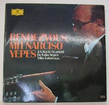 """RENDEZVOUS MIT NARCISO YEPES BACH SCARLATTI DE FALLA VILLA-LOBOS.. 12"""" LP (f506)"""