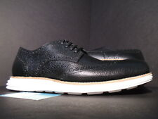 COLE HAAN LUNARGRAND WING.TIP WINGTIP BLACK GRAIN WHITE FRAGMENT DESIGN C11193 9
