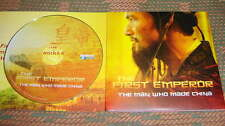 THE FIRST EMPEROR: THE MAN WHO MADE CHINA DVD Documentary ~ Qin Shi Huang Di