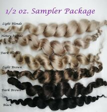 ~CuRLy MoHaiR SaMPLeR PaCk ~ REBORN DOLL SUPPLIES
