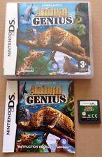 Animal Genius Juego Para Ds Dsi Ds Lite 3ds Nintendo Completo * Uk libre de envío *