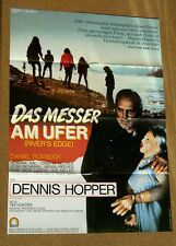 DAS MESSER AM UFER RIVER'S EDGE FILMPLAKAT #2 DENNIS HOPPER KEANU REEVES (k2)