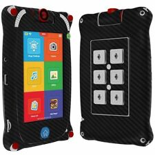 "Skinomi Carbon Fiber Black Skin+Screen Protect for Fuhu Nabi Jr. 5"" Tablet"