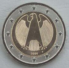 2 Euro Kursmünze Deutschland 2014 F unz.