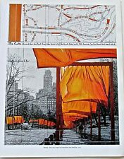 Christo & Jean Claude (The Gate Central Park) Project Poster Reprint 2
