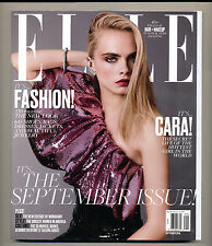 ELLE US. September 2016. Cara Delevingne SARA SAMPAIO Kate Grigorieva  VOGUE
