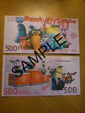TURBO DREAMWORKS NOVELTY 500 EURO BANK NOTE BIRTHDAYS, CHRISTMAS  GIFT BANKNOTE