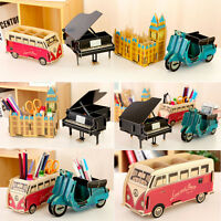 Cute DIY Desk Decor Organizer Makeup Cosmetic Stationery Paper Board Storage Box