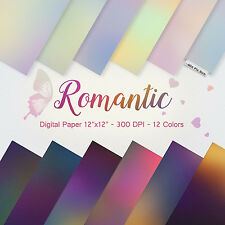 Romantic background,Pastel Digital Paper,invitation background, party