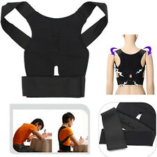 Pro Magnetic Posture Corrector Back Shoulder Support Belt Brace Straight Lumbar